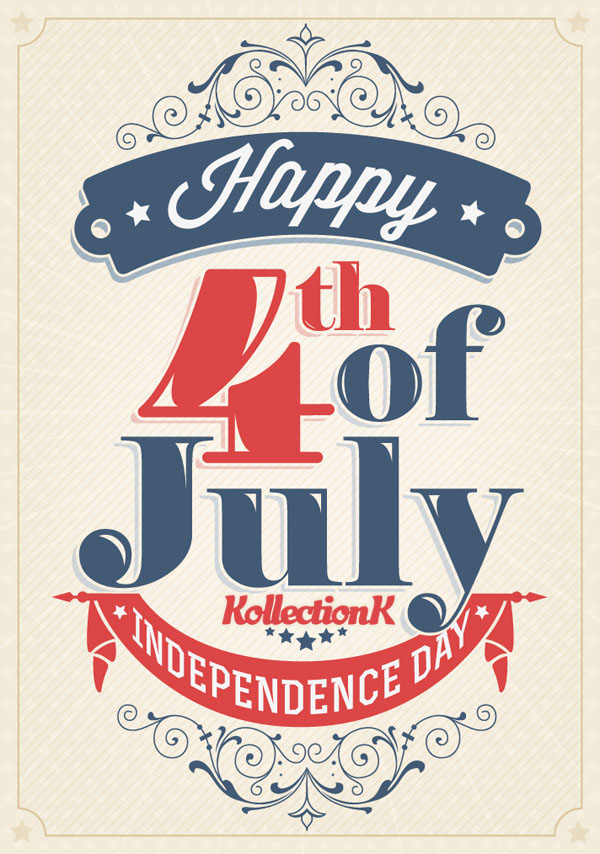 Congratulations! Happy 4th July to all American friends! KOLLECTIONK