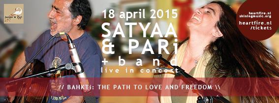 HeartFire SHiNE Satyaa & Pari Kareem Raihani