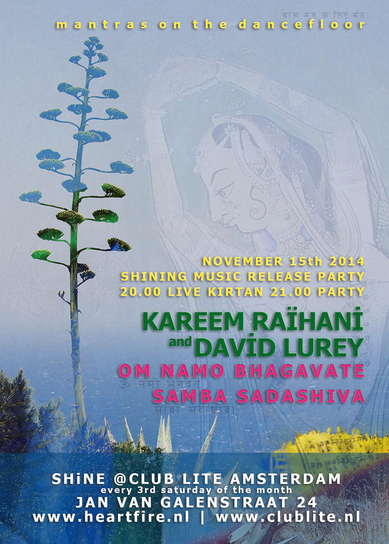 Shining Music Release Party Kareem Raïhani & David Lurey