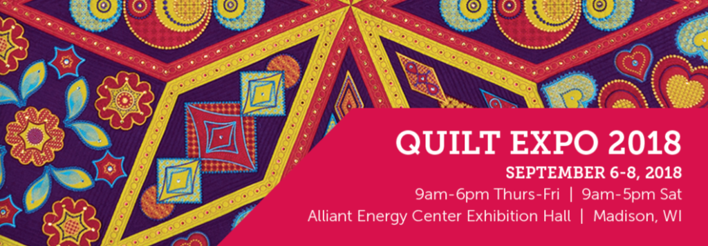 Quilt Expo 2018 details