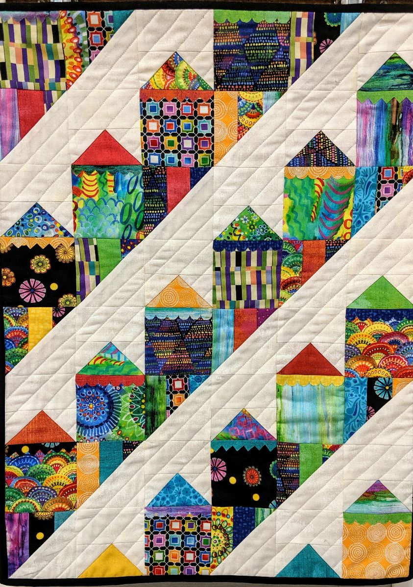 Fierce Ladies quilt by BBQuilts' staff member Kathy