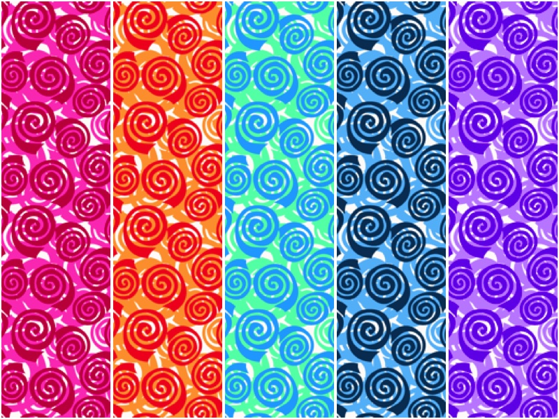 Abstract Garden - Blooming Roses