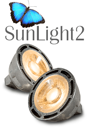LTF SunLight2 True-Color Optimized MR16 LED Bulbs