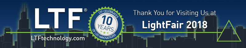 Thank you for visiting LTF at LightFair 2018