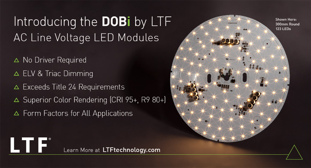 The DOBi Series by LTF - AC Line Voltage LED Modules