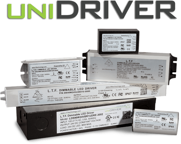 UniDriver Series LED Drivers - Universal Input, Universal Dimming