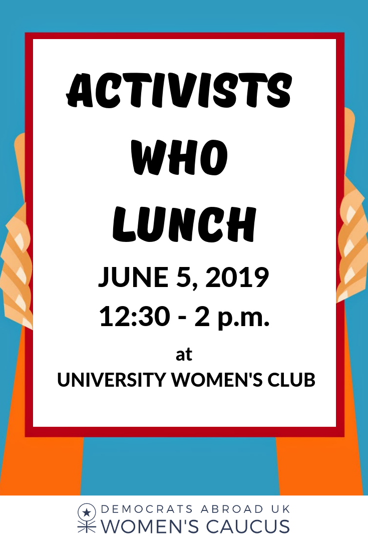 Activists Who Lunch June