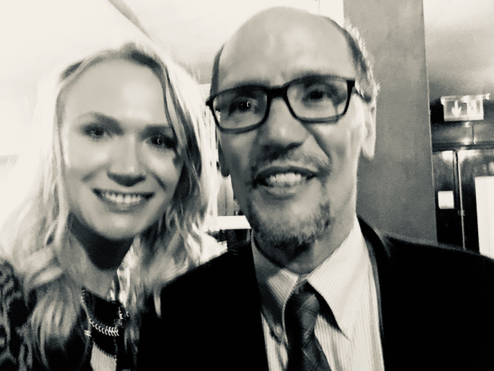 Co-Chair Meghan Feeks with Tom Perez