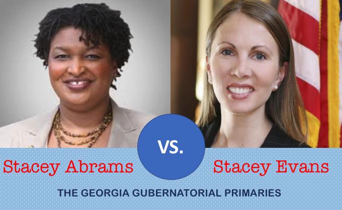 Stacy vs. Stacey: The GA gubernatorial primaries