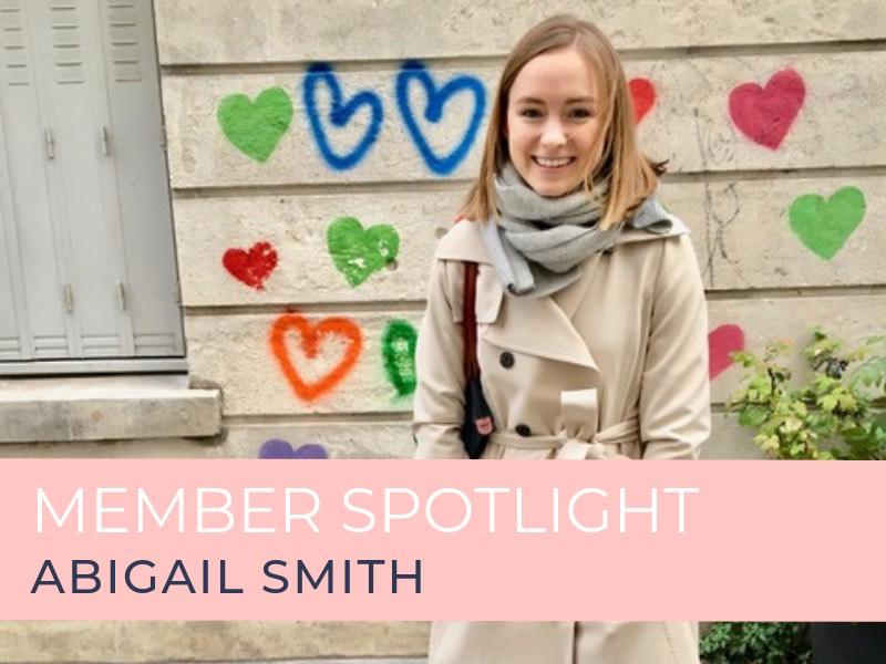 Member SpotlightAbigail Smith
