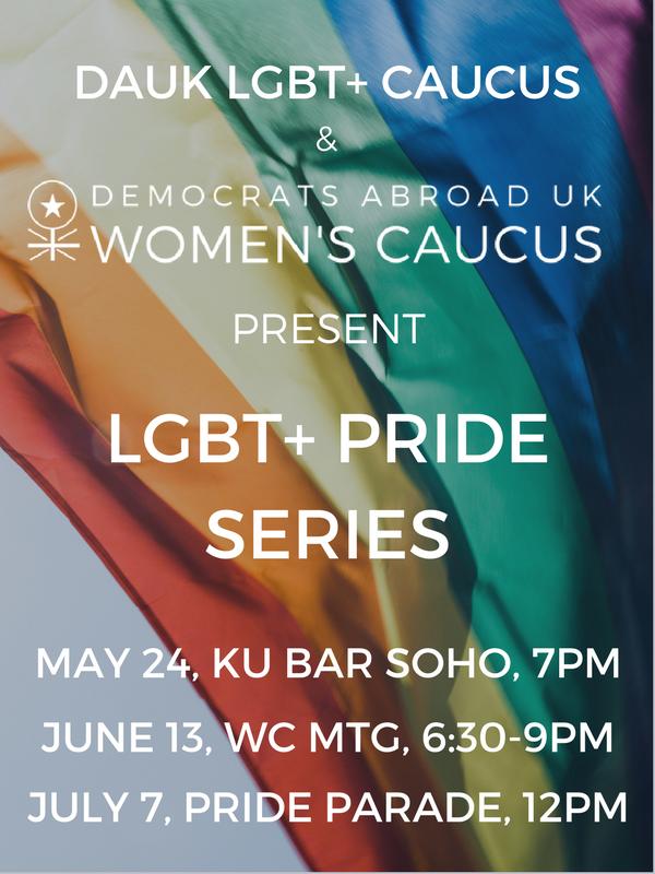 DAUK LGBT+ Pride Series