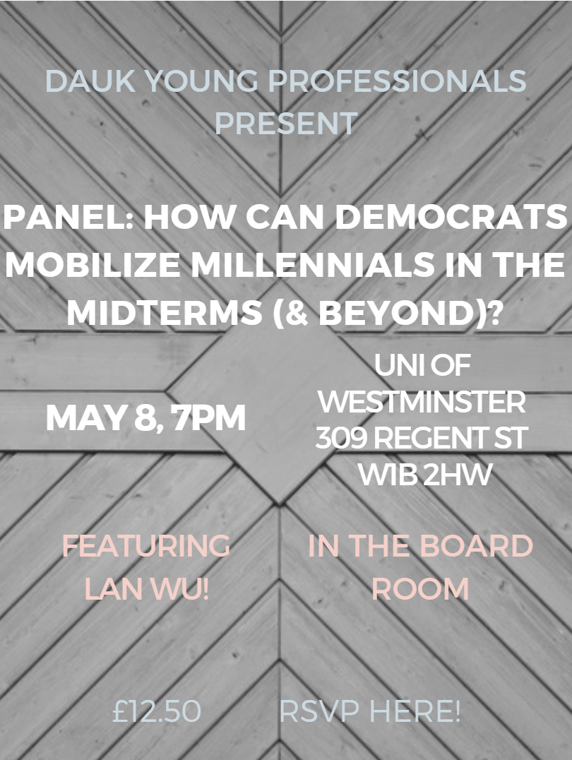 https://www.eventbrite.co.uk/e/how-can-democrats-mobilize-millennials-in-the-mid-terms-and-beyond-tickets-45491297696