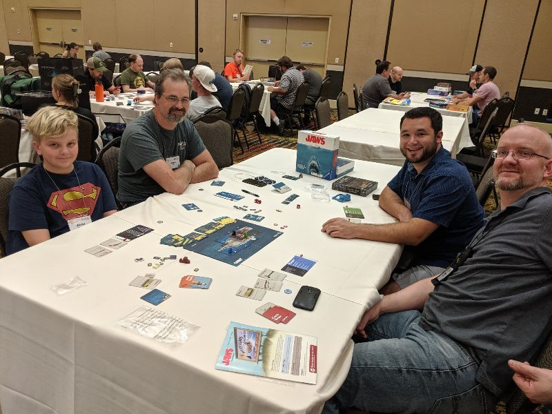 Jaws Board Game at SaltCON