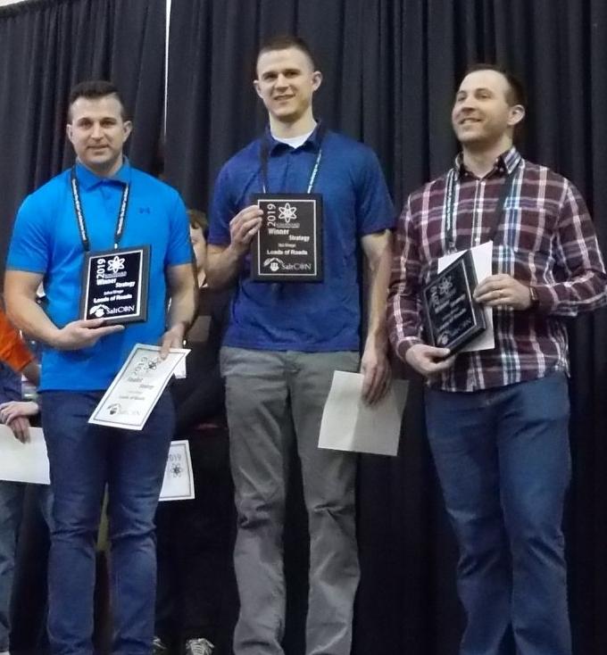 Joshua, Anthony and Nick Winegar Ion Award Winners