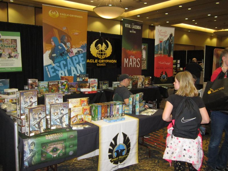 Eagle Gryphon Booth