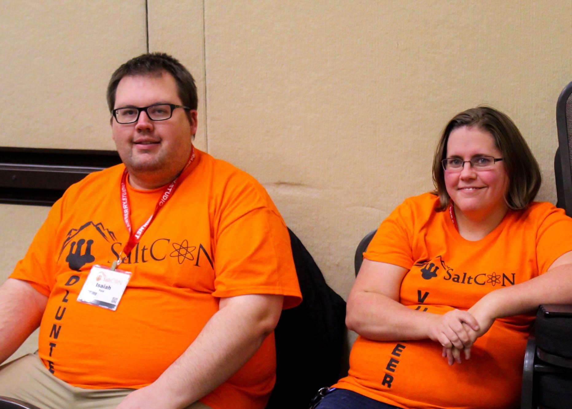 SaltCON Volunteers