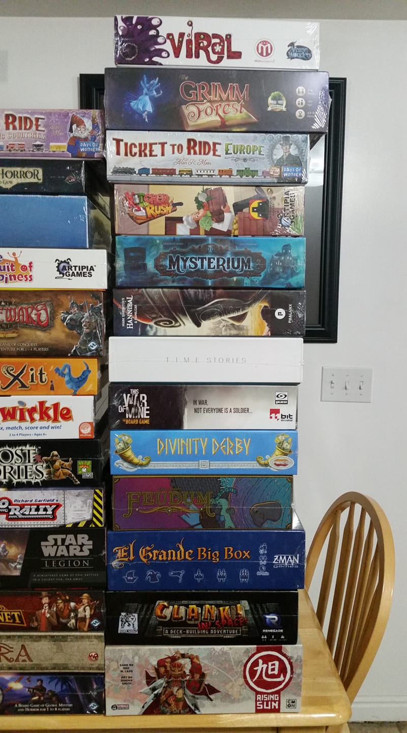 Stacks of Games
