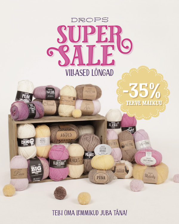 DROPS Supersale - 35%