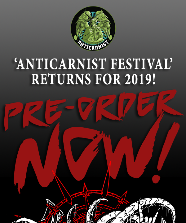 Anticarnist Festival Returns for 2019