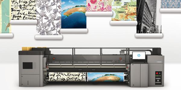 Imprimante HP Latex, papier peint Aqua Paper