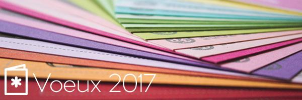 Cartes de voeux 2017