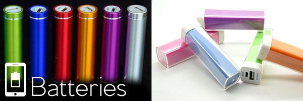 Batteries personnalisables