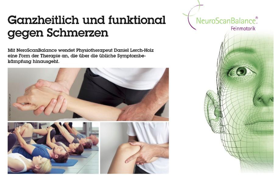 NeuroScanBalance: Ganzheitlich und funktional gegen Schmerzen