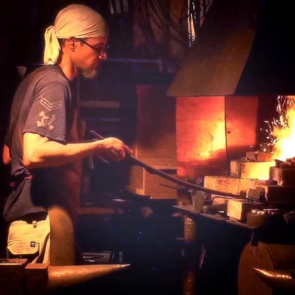 Sounds of the Workshop: Bladesmithing Night Session