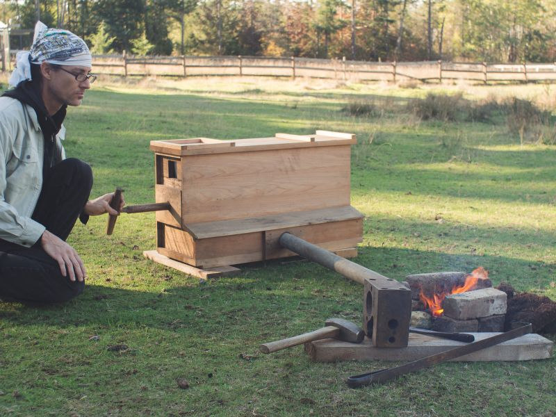 Building Simple Charcoal Forges