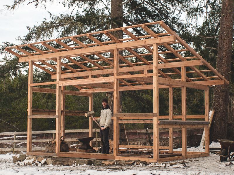 Island Forge: Part 2 – Timber Frame