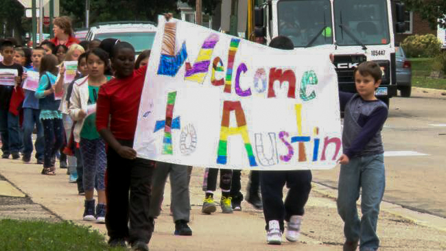 Austin Flag Walk