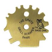 The Sage Owl Brass Grill Scraper