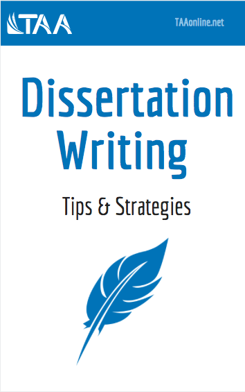 Dissertation Writing Tips and Strategies