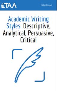 Academic Writing Styles ebook