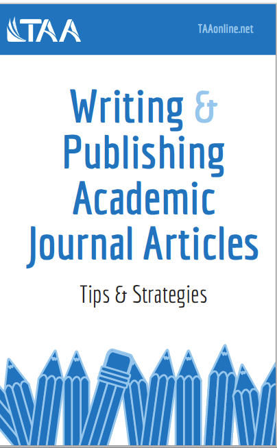 Writing and Publishing Academic Journal Articles