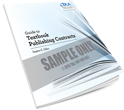 Guide to Textbook Publishing Contracts sample cover