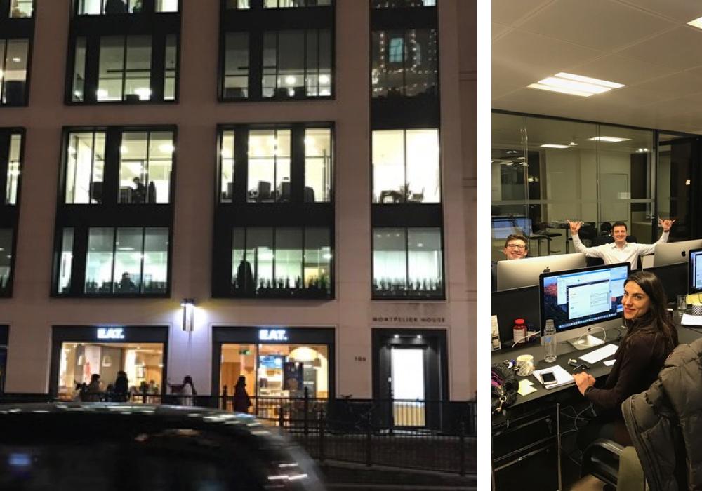 JETSMARTER LONDON OFFICETHE SALES TEAM HARD AT WORK