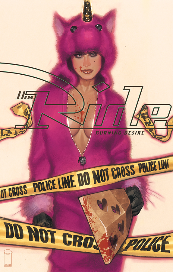 The Ride #1 cover