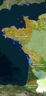 France mosaique ouest