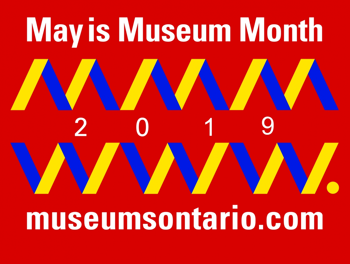 May is Museum Month Logo