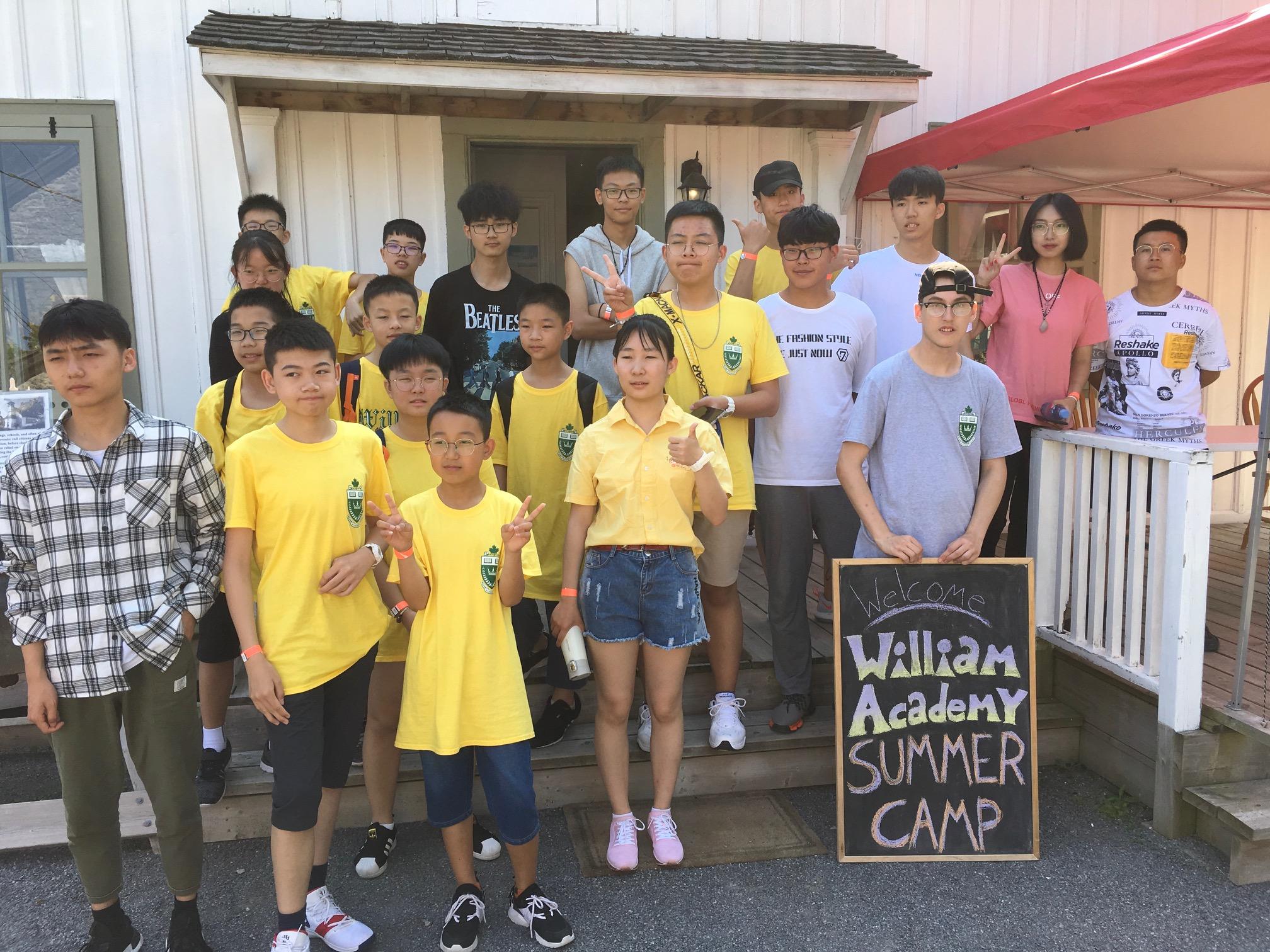 Children from William Academy Summer Camp