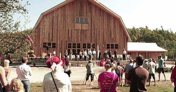 Lang Pioneer Village - New Barn