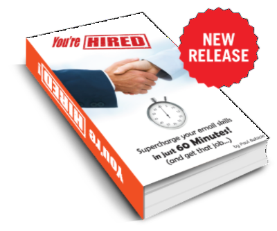 You're Hired Book