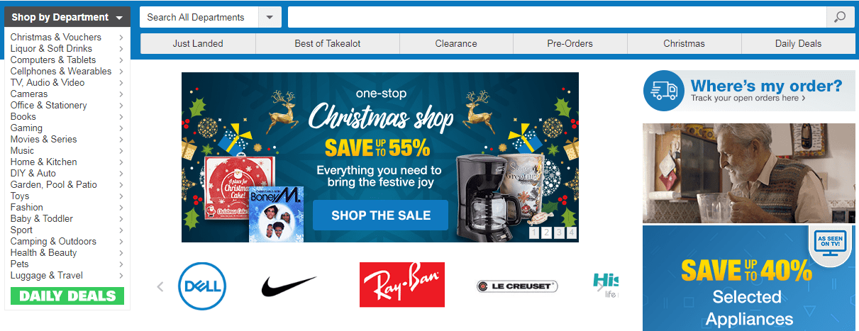 takealot christmas