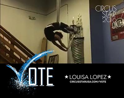 Louisa Lopez, tissu