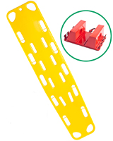 Spinal Board and Head Immobiliser