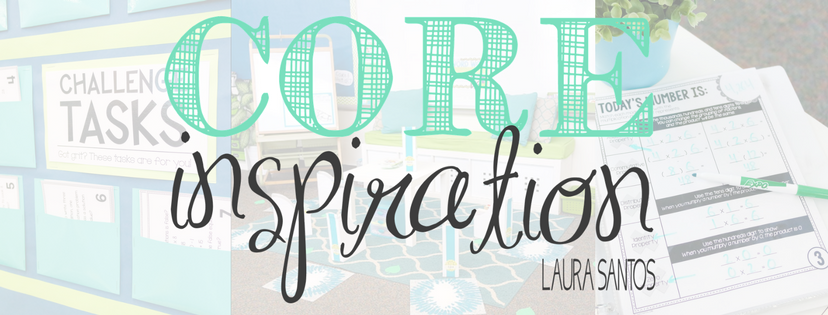 Core Inspiration Logo With Classroom Background