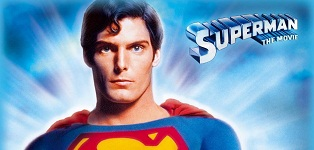 Vintage Superman movie poster
