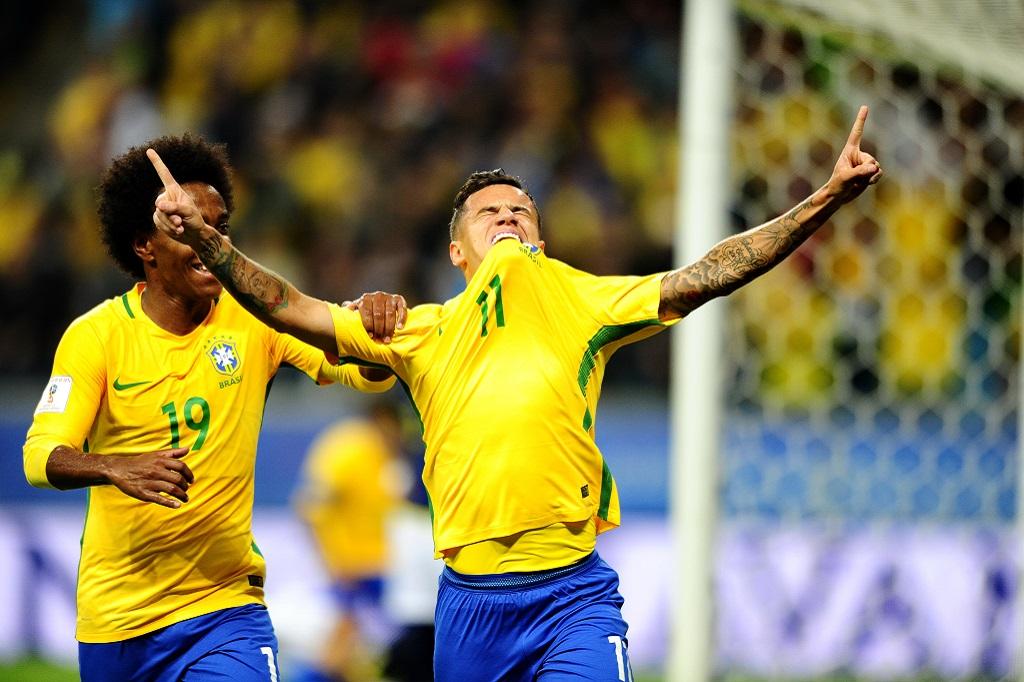 Seleção ganha do Equador na Arena