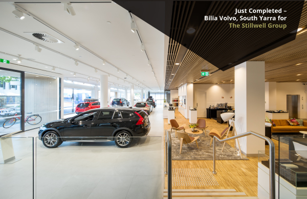 Neo Project: Bilia Volvo, South Yarra